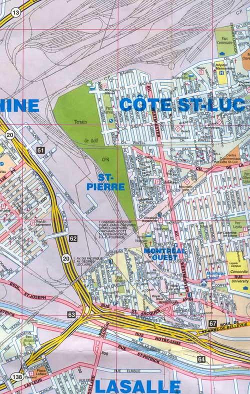 Cote Saint Luc, Montreal West, Lasalle